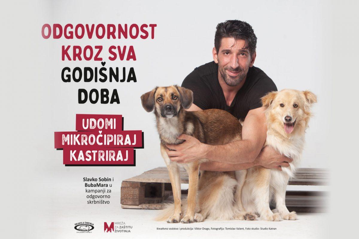 """Kampanja protiv napuštanja životinja """"Odgovornost kroz sva godišnja doba"""""""
