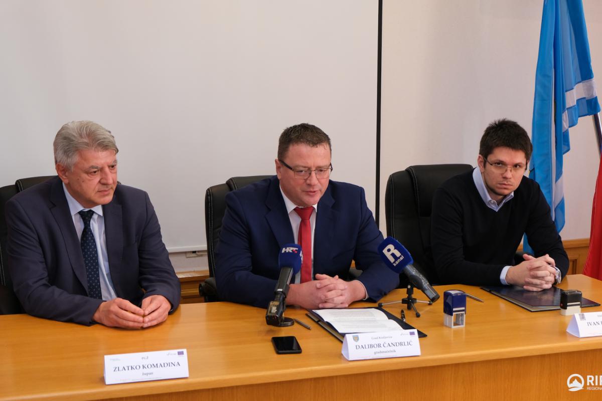 Potpisan ugovor za radove na uređenju okoliša dvorca Nova Kraljevica – Frankopan