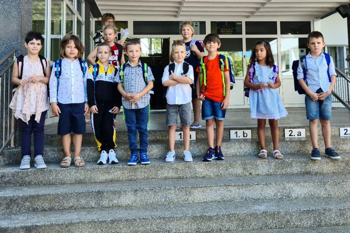 Prvi put u školskim klupama – počela nova školska godina