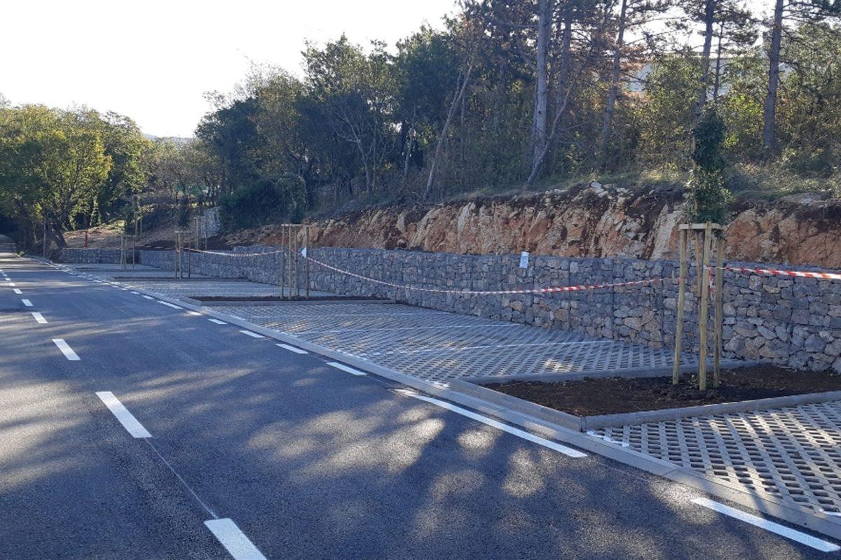 Završeni radovi na izgradnji novog parkirališta Fortica